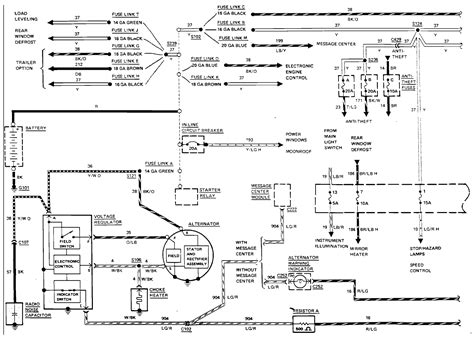 remote start wiring diagram for 1998 lincoln town car 53
