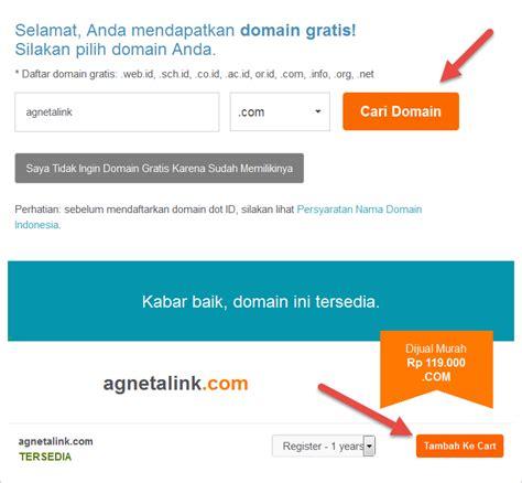 membeli web hosting  mendaftarkan domain duniailkom