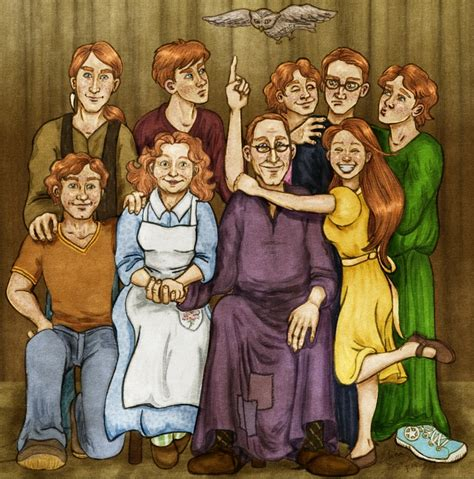 The Weasley Family By Kendrakickz0220 On Deviantart | the weasley family take two by vanishingshmink on deviantart