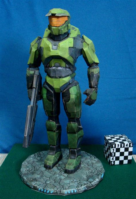 Master Chief Papercraft - halo master chief papercraft by aedismon on deviantart
