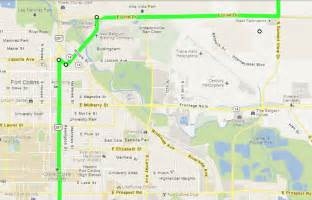 colorado state fort collins cus map was lincoln avenue part of the lincoln highway