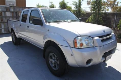find used 2004 nissan frontier xe crew cab long bed pickup