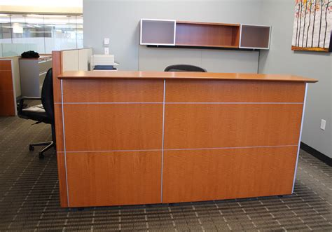 Knoll Reff Reception Desk Knoll Reff Anigre Reception Desks Peartree Office Furniture