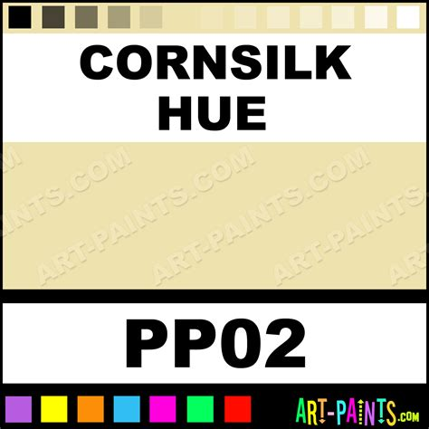cornsilk color cornsilk paper foam and styrofoam paints pp02