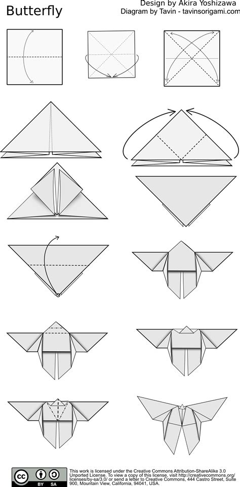 Origami Butterfly Pdf - index of diagram