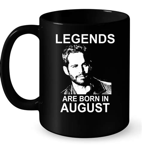 Kaos Legends Are Born In August 8 V Neck Vnk Tag37 legends are born in august paul walker t shirt buy t shirts sell teenavi