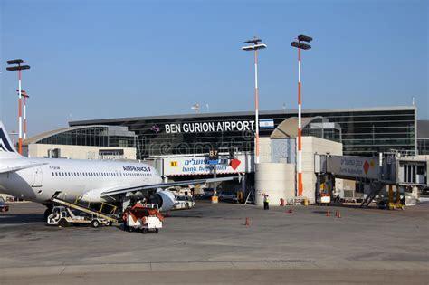 Tel Aviv International Mba by Ben Gurion International Airport Editorial Photography