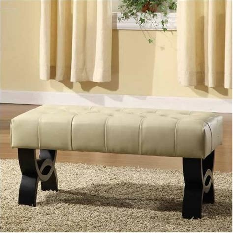 long tufted ottoman 25 white leather ottomans square rectangle