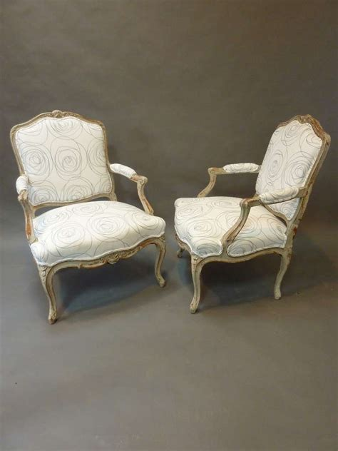 french provincial armchairs pair of louis xv style french provincial armchairs for