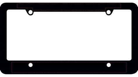 License Plate Template Clipart Best License Plate Frame Template