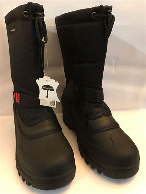 mens winter boots size 10 new mens winter boots 10 quot insulated waterproof