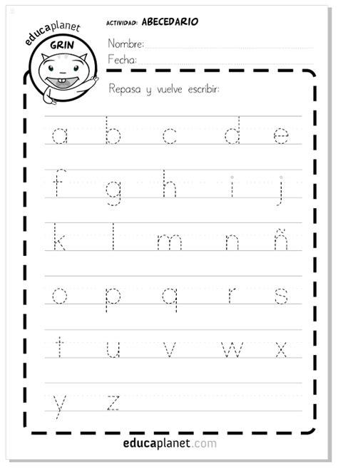 cartilla fonetica para imprimir ficha gratis abecedario letras min 250 sculas number