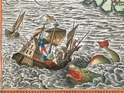sea monsters on medieval the enchanting sea monsters on medieval maps science smithsonian