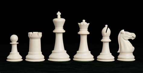Chess Set Pieces The Marshall Series Plastic Chessmen 3 75 Quot King House