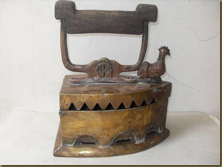 Setrika Jadul Ayam Jago koleksi barang antik setrika arang ayam jago 7 lubang