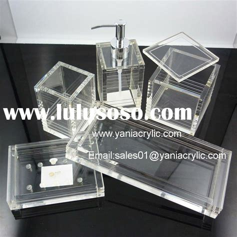Acrylic Bathroom Accessories Acrylic Bathroom Accessories Lucite Bathroom Accessories