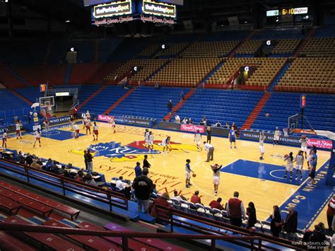 what is section 16 allen fieldhouse section 16 rateyourseats com