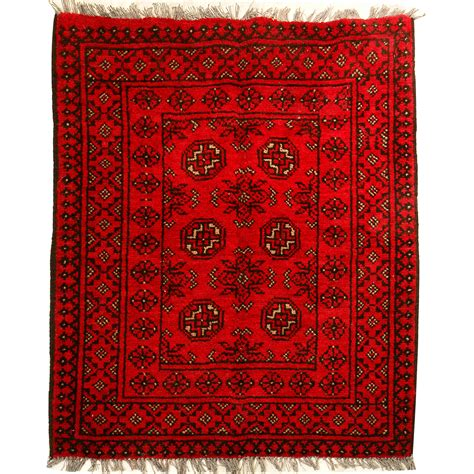Wolldecke Rot by Nomad Rugs Axce 109x79cm Nomad Rug Discount