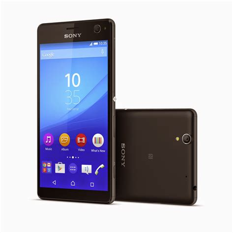 Hp Android Sony Xperia C4 sony xperia c4 un selfiephone sans grosse frandroid