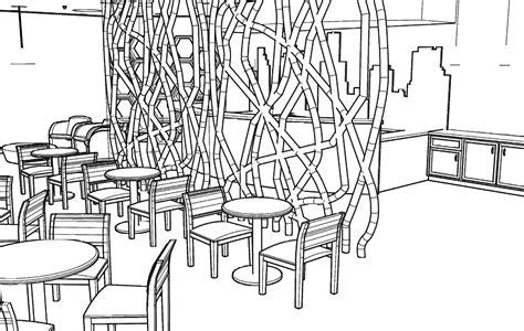 coffee shop floor plan layout Beautiful Modern Home