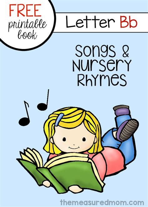 rhymes with room free letter b book of rhymes and songs the measured