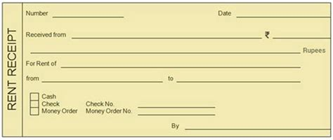 rent slips 10 free rent receipt templates the most