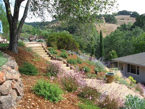 Hillside Garden Design Ideas Creative Hillside Landscape Ideas Bistrodre Porch And Landscape Ideas