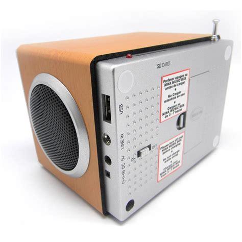 Speaker Mp3 Radio portable mp3 player with speaker fm radio and alarm