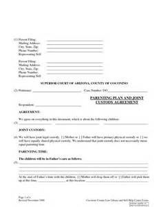 Shared Parenting Plan Template by Shared Parenting Plan Template Ebook Database