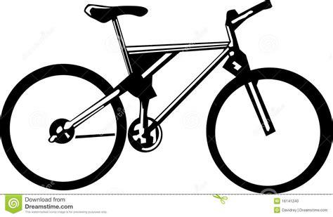 Imagenes De Bicicletas A Blanco Y Negro   bicicleta blanco y negro foto de archivo imagen 16141240