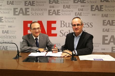 Eae Mba Tuition Fee by Josep Mar 237 A Pa 241 Os Chairman Of The Catalan Association Of