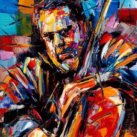 jazz artists biography charles mingus painting by debra hurd