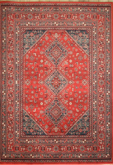 Afghan Rug by Afghan 7903 200 Rug Traditional Machine Made