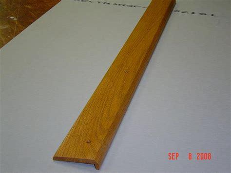 how to trim a rug oak carpet trim woodbin