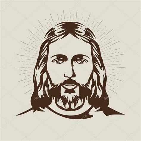 imagenes en vectores rostro de jesucristo vector de stock 169 biblebox 89943740