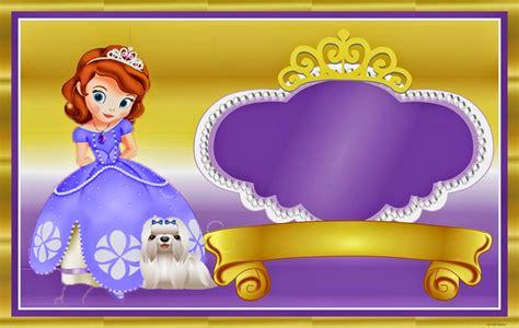 frame design sofia princess sofia the first free printable kit oh my