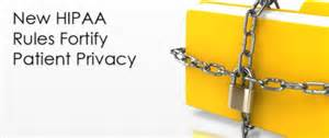 New hipaa rules fortify patient privacy dolbey systems inc