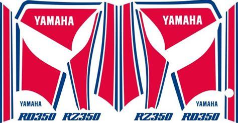 Yamaha Rd 350 Ypvs Aufkleber rd ypvs dekor 2