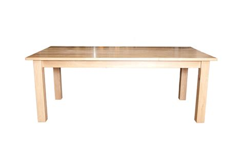 oak dining table bergwood solid wood furnishings