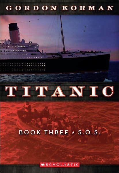 I O N Paperback s o s titanic series 3 by gordon korman paperback