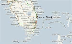 where is coconut creek florida on map coconut creek location guide