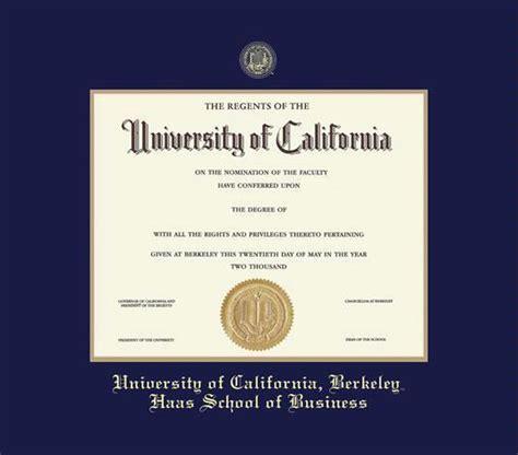 Berkeley Mba Class Size by Custom Diploma Frames Certificate Frames Framing