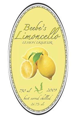 liquor label template limoncello label templates s limoncello