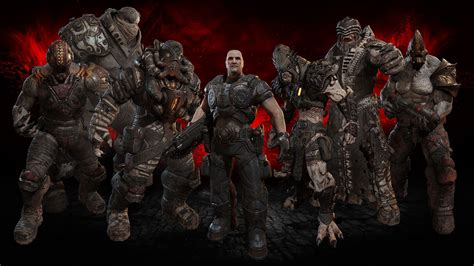 Nutrimax C Beta 1 3 1 6 G 30s gears of war ultimate edition character pack