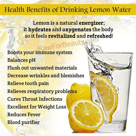 Lemon And Detox Water Benefits by Heath Benefits Of Lemon Water Shtf Prepping