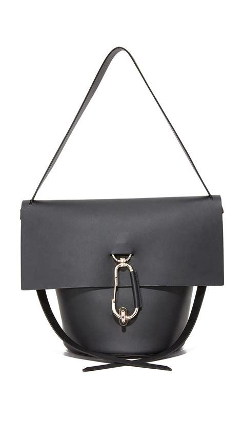 New Zac Posen Handbags by Zac Zac Posen Belay Shoulder Bag In Black Lyst