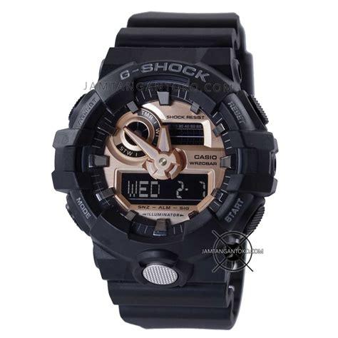Murah Diskon Casio G Shock Ga 110a Black Grey Gold harga sarap jam tangan g shock ga 710rg 1a black gold