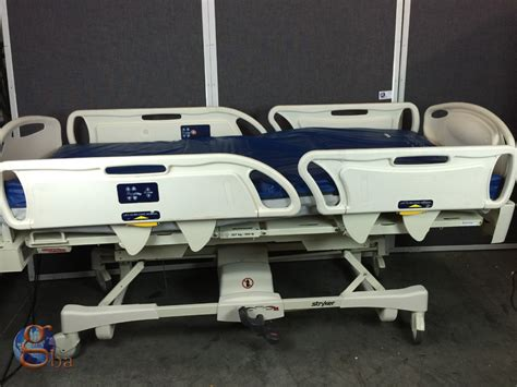 stryker medical beds stryker fl28ex gobed ii med surg electric hospital bed