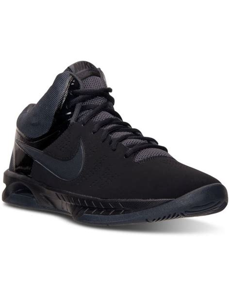 finish line womens basketball shoes nike s air visi pro vi nubuck basketball sneakers from