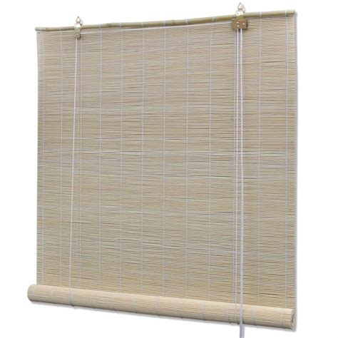 bettdecke 80 x 160 vidaxl co uk bamboo roller blinds 80 x 160 cm